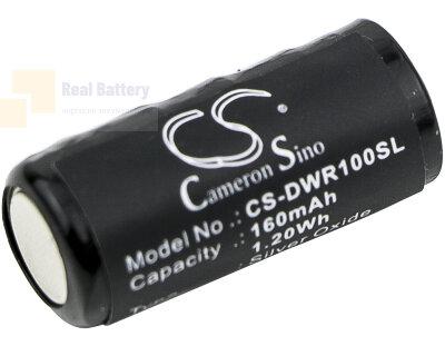 Аккумулятор CS-DWR100SL для PetStop OT200 dog fencing collar 7,5V 160Ah Silver Oxide