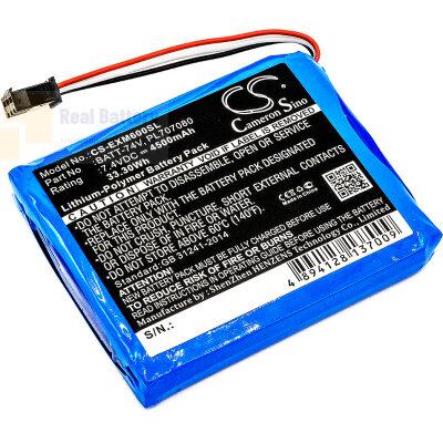 Аккумулятор CS-EXM600SL для Extech MS6000 7,4V 4500Ah Li-Polymer