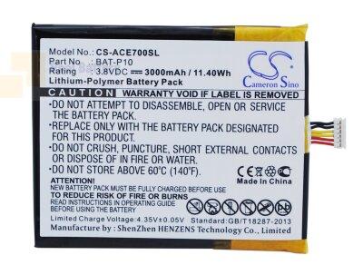 Аккумулятор CS-ACE700SL для Acer E39 3,8V 3000Ah Li-Polymer