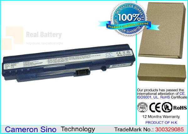 Аккумулятор CS-ACZG5HT для Acer Aspire One 531H 11,1V 4400mAh Li-ion