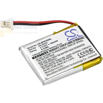 Аккумулятор CS-BPE200SL для Bang & Olufsen EarSet 2 3,7V 140Ah Li-Polymer