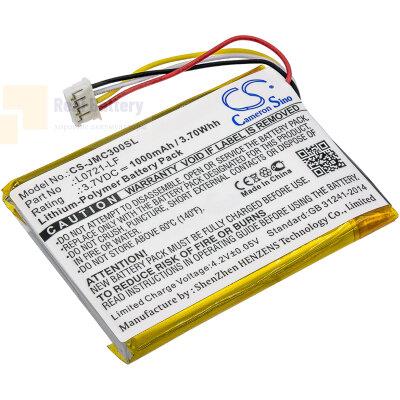 Аккумулятор CS-JMC300SL для JBL Clip 3 3,7V 1000Ah Li-Polymer