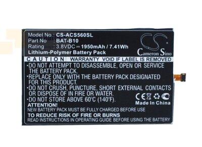Аккумулятор CS-ACS560SL для Acer Liquid Jade 3,8V 1950Ah Li-Polymer
