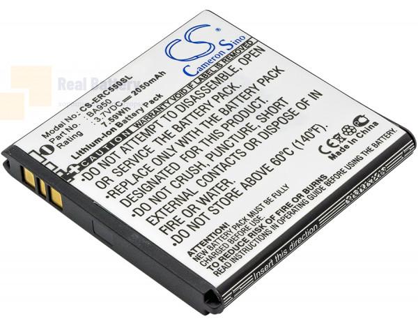 Аккумулятор CS-ERC550SL для Sony Ericsson C5503 3,7V 2050Ah Li-ion