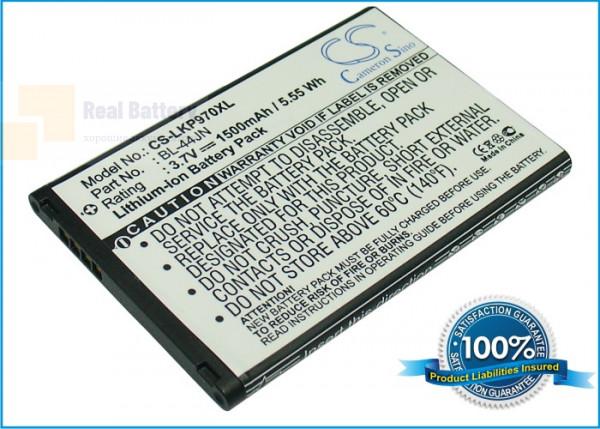 Аккумулятор CS-LKP970XL для T-Mobile LGE739 3,7V 1500Ah Li-ion