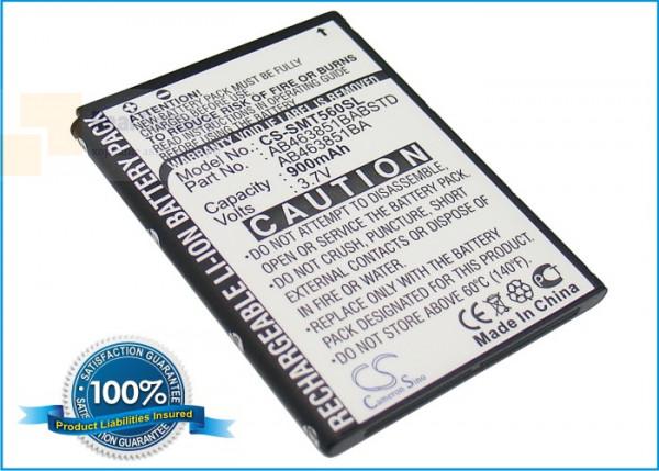 Аккумулятор CS-SMT560SL для USCellular Character 3,7V 900Ah Li-ion