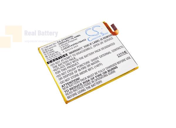 Аккумулятор CS-ZTQ509SL для ZTE Q509T 3,8V 3800Ah Li-Polymer