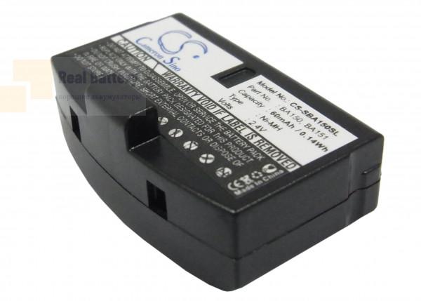 Аккумулятор CS-SBA150SL для Sennheiser A200 2,4V 60Ah Ni-MH