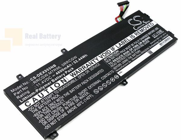 Аккумулятор CS-DEX955NB для DELL Precision 15 5510  11,4V 4600mAh Li-Polymer