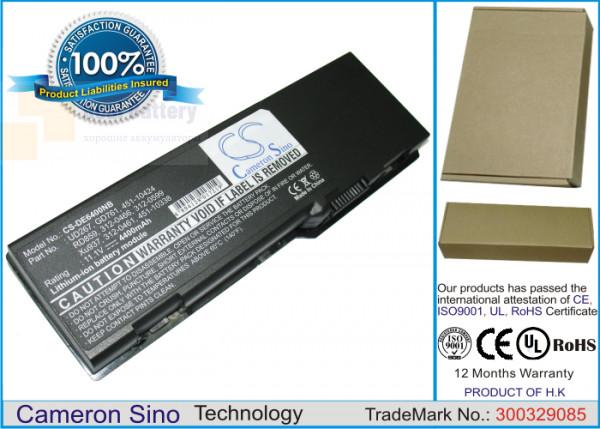 Аккумулятор CS-DE6400NB для DELL Inspiron 1501  11,4V 4400mAh Li-ion