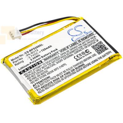 Аккумулятор CS-BPS200SL для Bang & Olufsen Beosound 2 3,7V 720Ah Li-Polymer