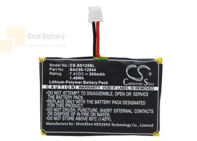 Аккумулятор CS-SD125SL для SportDOG HoundHunter SD-3225 SR-300 rec 7,4V 200Ah Li-Polymer