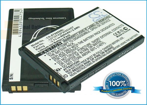 Аккумулятор CS-ZTX850SL для Telstra C170 3,7V 800Ah Li-ion