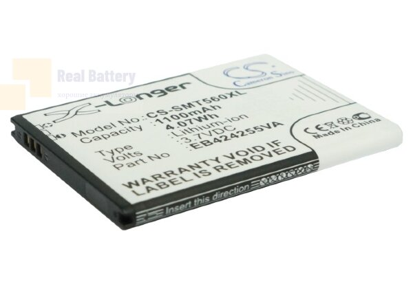 Аккумулятор CS-SMT560XL для USCellular Character 3,7V 940Ah Li-ion