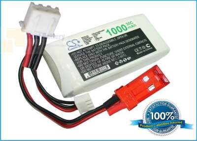 Аккумулятор CS-LP1002C30RT для RC CS-LP1002C30RT 7,4V 1000Ah Li-Polymer
