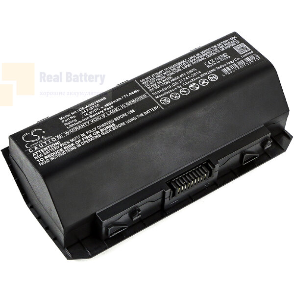 Аккумулятор CS-AUG750NB для Asus G750  14,8V 4800mAh Li-ion