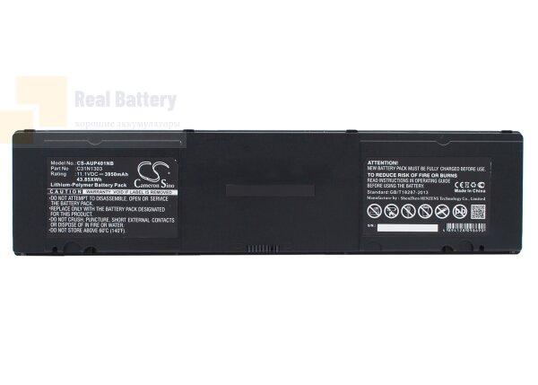Аккумулятор CS-AUP401NB для Asus AsusPro Essential PU401LA  11,1V 3950mAh Li-Polymer