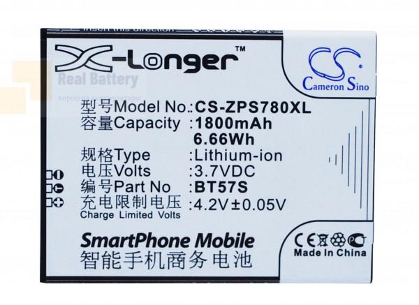 Аккумулятор CS-ZPS780XL для ZOPO 6560 3,7V 1800Ah Li-ion