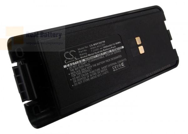 Аккумулятор CS-MSP300TW для Maxon SP300 7,2V 1800Ah Ni-MH