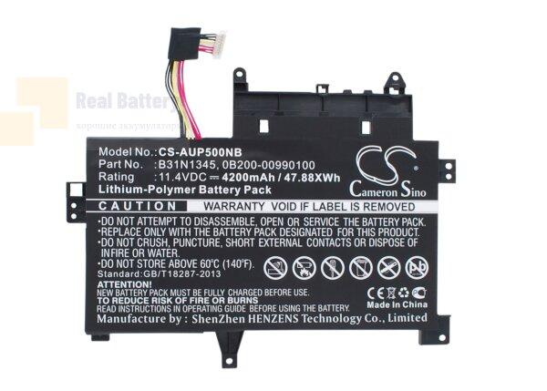 Аккумулятор CS-AUP500NB для Asus Transformer Book Flip TP500LA  11,4V 4200mAh Li-Polymer