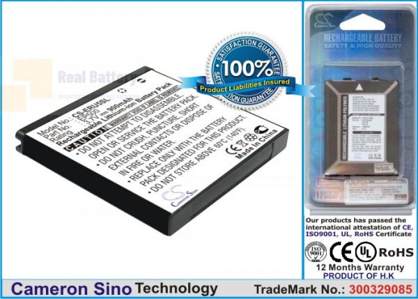 Аккумулятор CS-ERU5SL для Sony Ericsson E15 3,7V 900Ah Li-ion