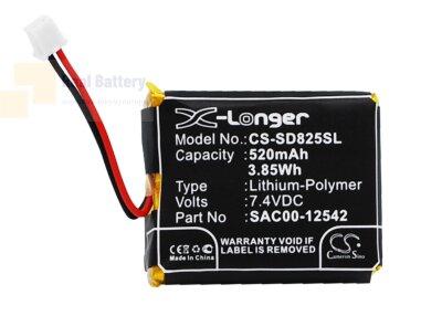 Аккумулятор CS-SD825SL для SportDOG D-1875 7,4V 520Ah Li-Polymer