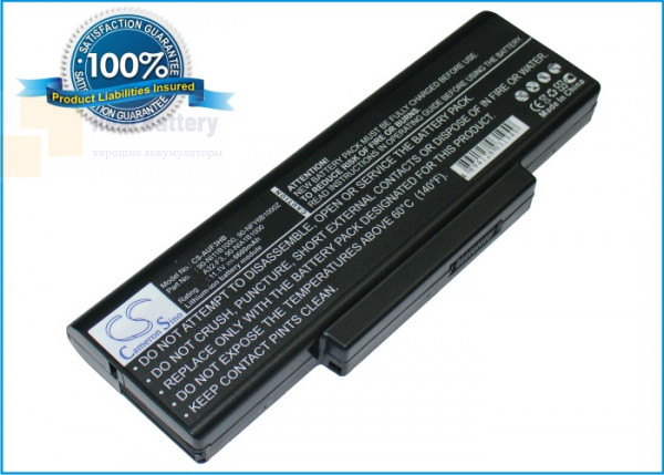 Аккумулятор CS-AUF3HB для Asus A9  11,1V 6600mAh Li-ion