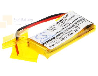 Аккумулятор CS-SMW202SL для Sony NWZ-W202 3,7V 80Ah Li-Polymer