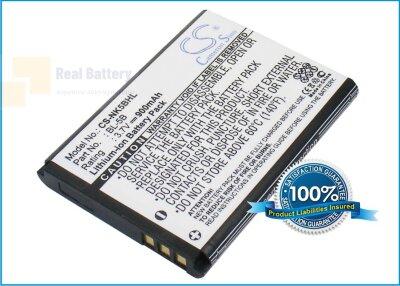Аккумулятор CS-NK5BHL для VIVITAR DVR850W 3,7V 900Ah Li-ion