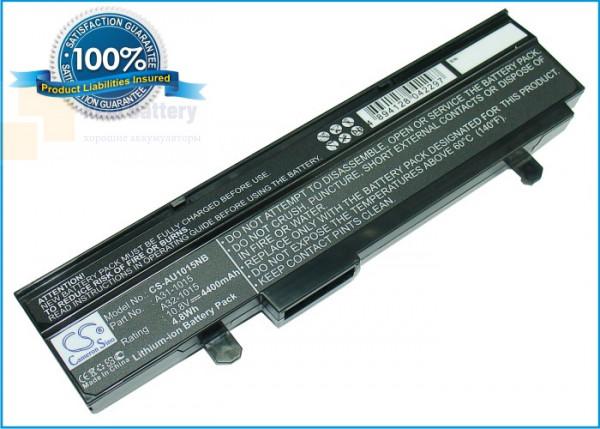 Аккумулятор CS-AU1015NB для Asus Eee PC 1015  10,8V 4400mAh Li-ion