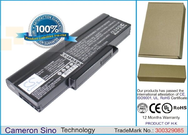 Аккумулятор CS-LVK42NB для DELL Inspriron 1425  11,1V 4400mAh Li-ion