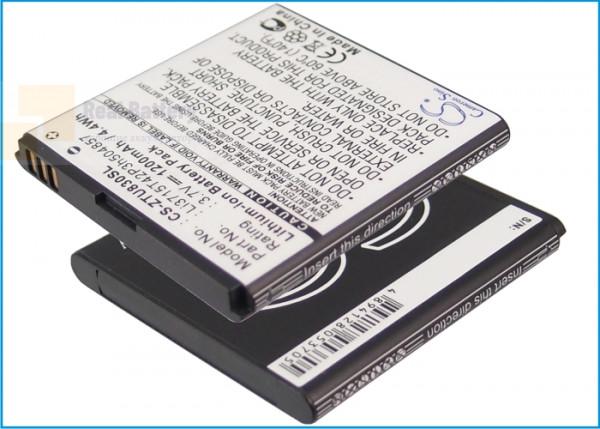 Аккумулятор CS-ZTU830SL для ZT&T Avail 2 3,7V 1200Ah Li-ion