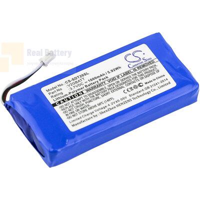 Аккумулятор CS-SDT20SL для SportDOG TEK 2.0 GPS Collar 3,7V 1600Ah Li-Polymer