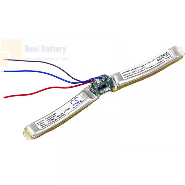 Аккумулятор CS-BQF30SL для Bose QC30 3,7V 180Ah Li-Polymer