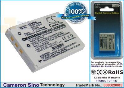 Аккумулятор CS-NP900 для VIVITAR V45 3,7V 600Ah Li-ion