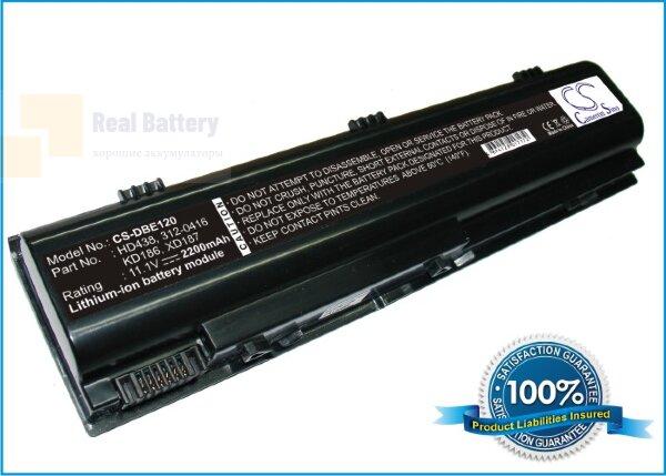 Аккумулятор CS-DBE120 для DELL Inspiron 1300  11,1V 2200mAh Li-ion