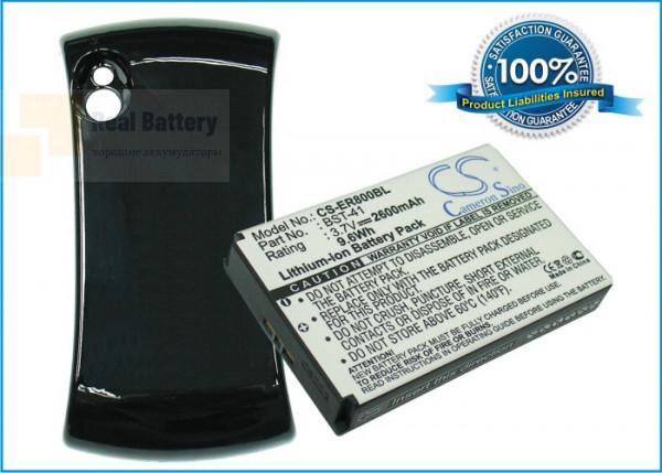 Аккумулятор CS-ER800BL для Sony Ericsson R800a 3,7V 2600Ah Li-ion