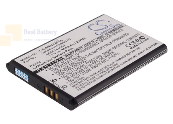 Аккумулятор CS-SMU420SL для USCellular Chrono 3,7V 800Ah Li-ion