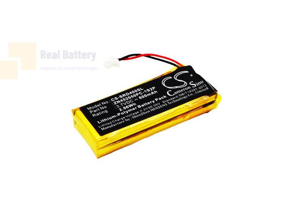 Аккумулятор CS-SRD400SL для Cardo G4 3,7V 800Ah Li-Polymer