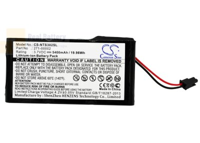 Аккумулятор CS-NTS302SL для Netapp 111-00022+H0 3,7V 5400Ah Li-ion
