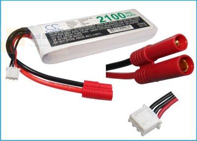 Аккумулятор CS-LP2102C30R1 для RC CS-LP2102C30R1 7,4V 2100Ah Li-Polymer