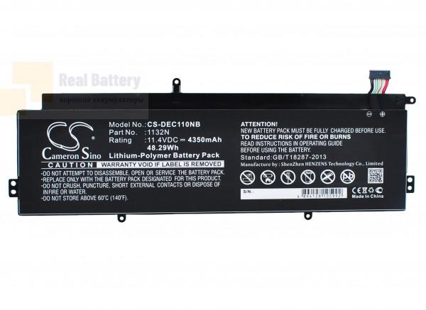 Аккумулятор CS-DEC110NB для DELL Chromebook 11 11,4V 4350mAh Li-Polymer