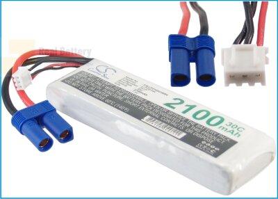 Аккумулятор CS-LP2102C30R4 для RC CS-LP2102C30R4 7,4V 2100Ah Li-Polymer