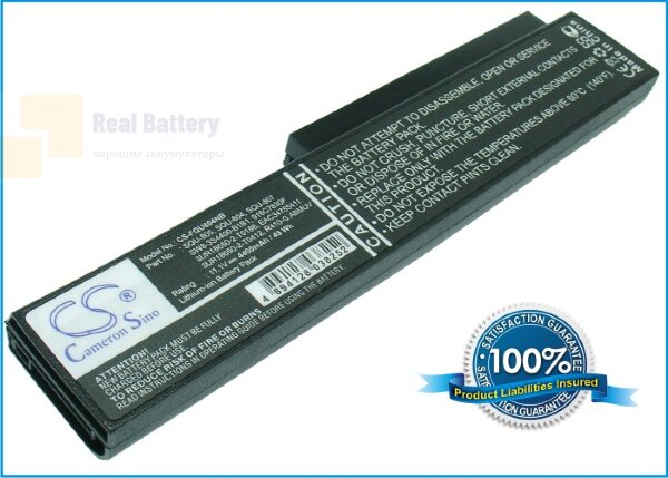 Аккумулятор CS-FQU804NB для Casper TW8 11,1V 4400mAh Li-ion