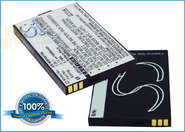 Аккумулятор CS-WSP001SL для Swissvoice MP01 3,7V 1000Ah Li-ion