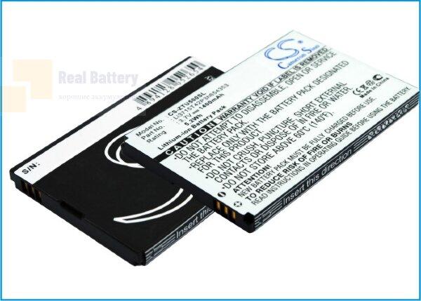 Аккумулятор CS-ZTU500SL для ZTE E760 3,7V 1400Ah Li-ion