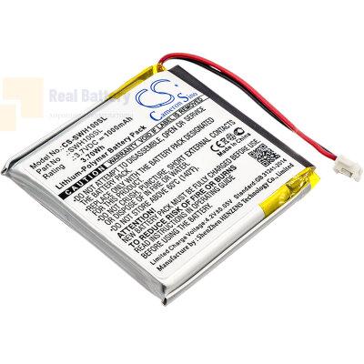 Аккумулятор CS-SWH100SL для Sony WH-1000xM3 3,7V 1000Ah Li-Polymer