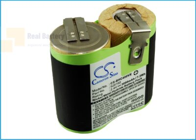 Аккумулятор CS-BHC400VX для Black & Decker Classic HC400 2,4V 3000mAh Ni-MH