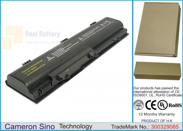 Аккумулятор CS-DBE120NB для DELL Inspiron 1300  11,1V 4400mAh Li-ion