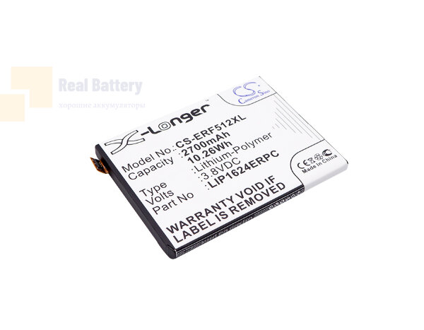 Аккумулятор CS-ERF512XL для Sony Ericsson F5121 3,8V 2700Ah Li-Polymer